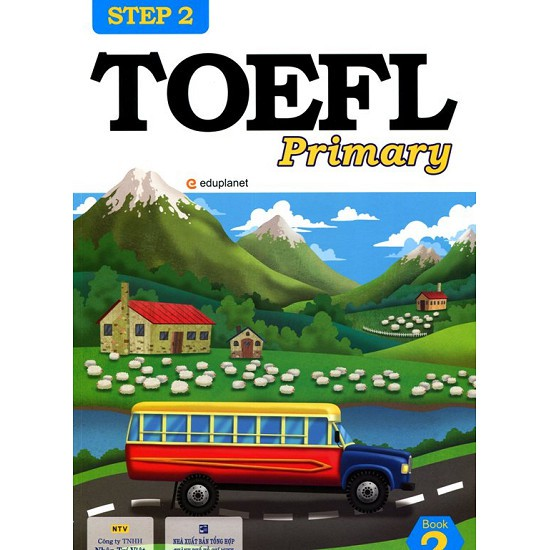 sách-TOEFL Primary Book 2 Step 2 (Kèm CD)