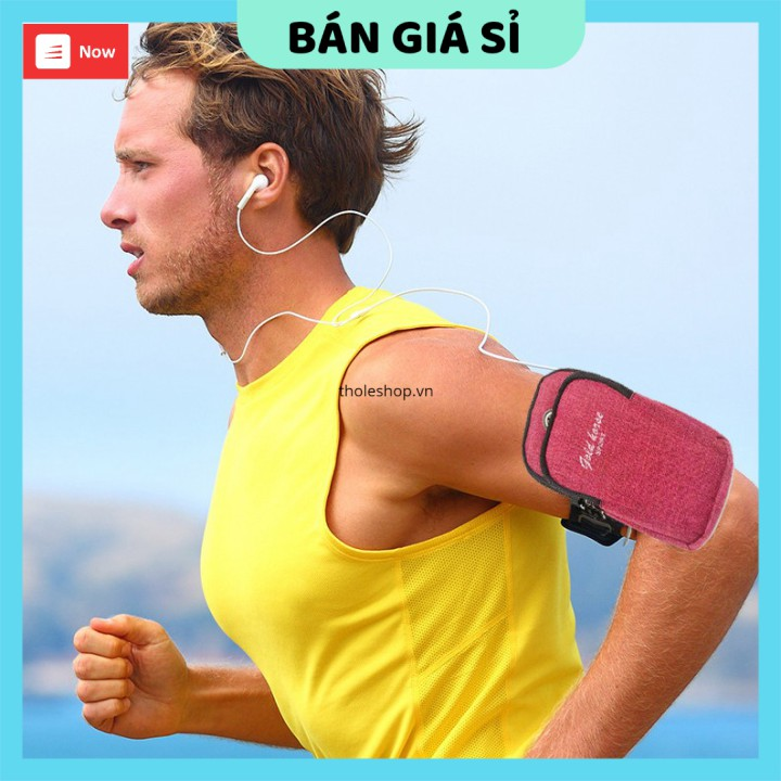 Túi đeo điện thoại chạy bộ   GIÁ VỐN   Túi đựng điện thoại đeo tay kiểu dáng thể thao, tiện lợi 9399