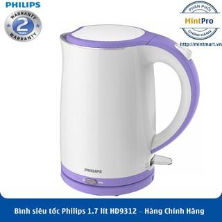 Bình siêu tốc Philips 1.7 lít HD9312 – Hàng Chính Hãng – Bảo Hành 2 Năm Toàn Quốc