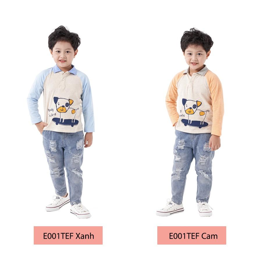 Áo Polo Bé Trai (1-9 Tuổi) K's Closet E001TEF / E002TEF TM