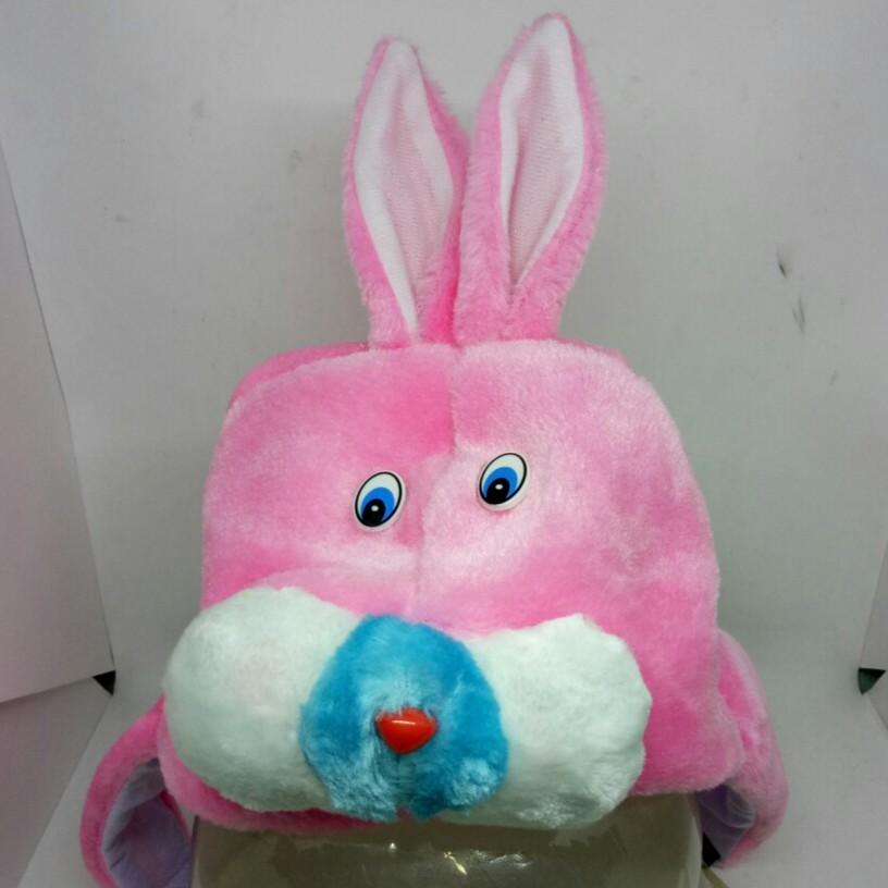 Mũ tai thỏ hình thú cưng trùm đầu và tai cho bé