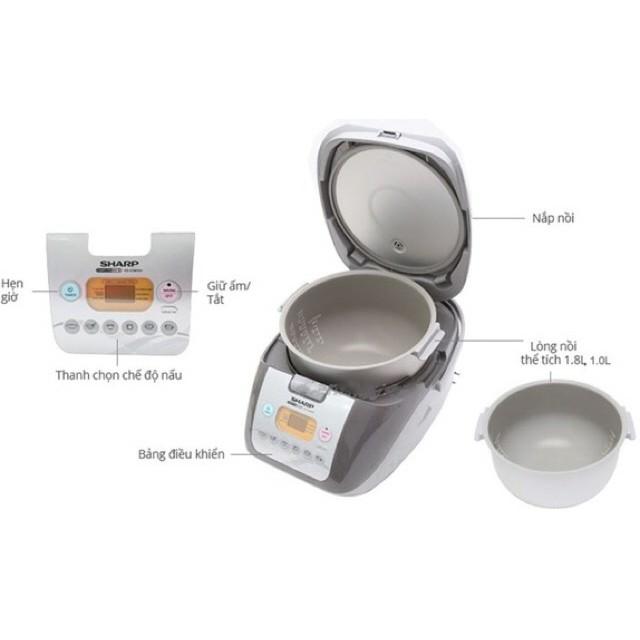 Nồi cơm Sharp THÁI KS - COM18 1,8 lít