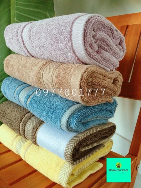 Khăn tắm xuất Hàn cao cấp - Nhiều màu (40x80cm)