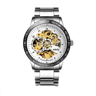 Đồng hồ nam cơ Nary chống nước chính hãng dây thép không rỉ SP609 (Nhiều màu) thumbnail