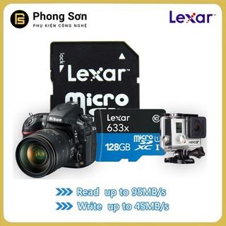 Thẻ nhớ Lexar Micro SDHC 128GB 633X 95MB s A1 dành cho Camera hành trình thumbnail
