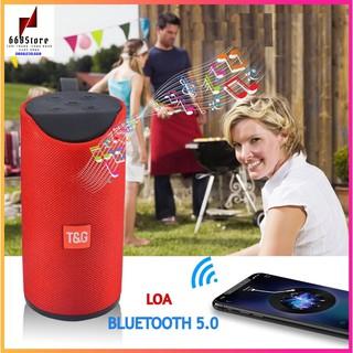 Loa Bluetooth 5.0 âm thanh cực chất bass to rõ ràng,Có Led RGB hỗ trợ usb khe cắm thẻ nhớ đài FM