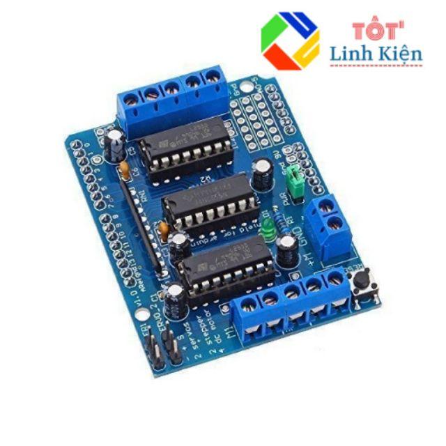 Module Điều Khiển Động Cơ L293D (Arduino Motor Shield L293D) - 21601716 , 1308906912 , 322_1308906912 , 55000 , Module-Dieu-Khien-Dong-Co-L293D-Arduino-Motor-Shield-L293D-322_1308906912 , shopee.vn , Module Điều Khiển Động Cơ L293D (Arduino Motor Shield L293D)