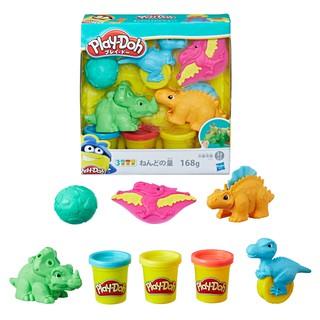 [Mã 1212TINI03 giảm 25% đơn 200k] Bộ đồ chơi Hasbro đất nặn công viên khủng long kỳ thú Play-Doh E1953 thumbnail