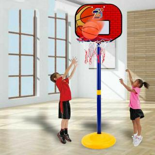 Kids 108CM Child Backboard Basketball Set Stand Portable Basket Hoop Net Pump MA