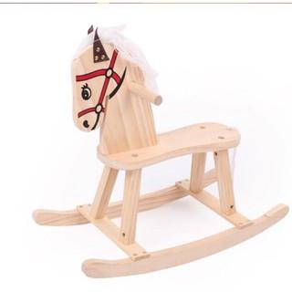 Ngựa gỗ bập bênh Little Emperor