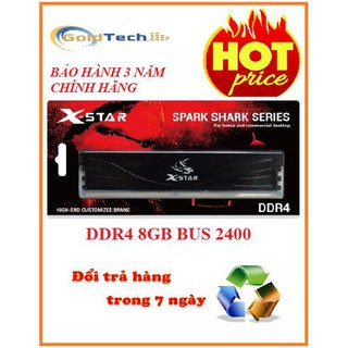 Ram PC Xstar DDR4 4Gb- 8Gb bus 2400 chính hãng bảo hành 3 năm thumbnail