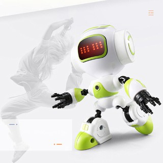 R8 touch sensing led eyes robot smart voice diy body gesture model toy