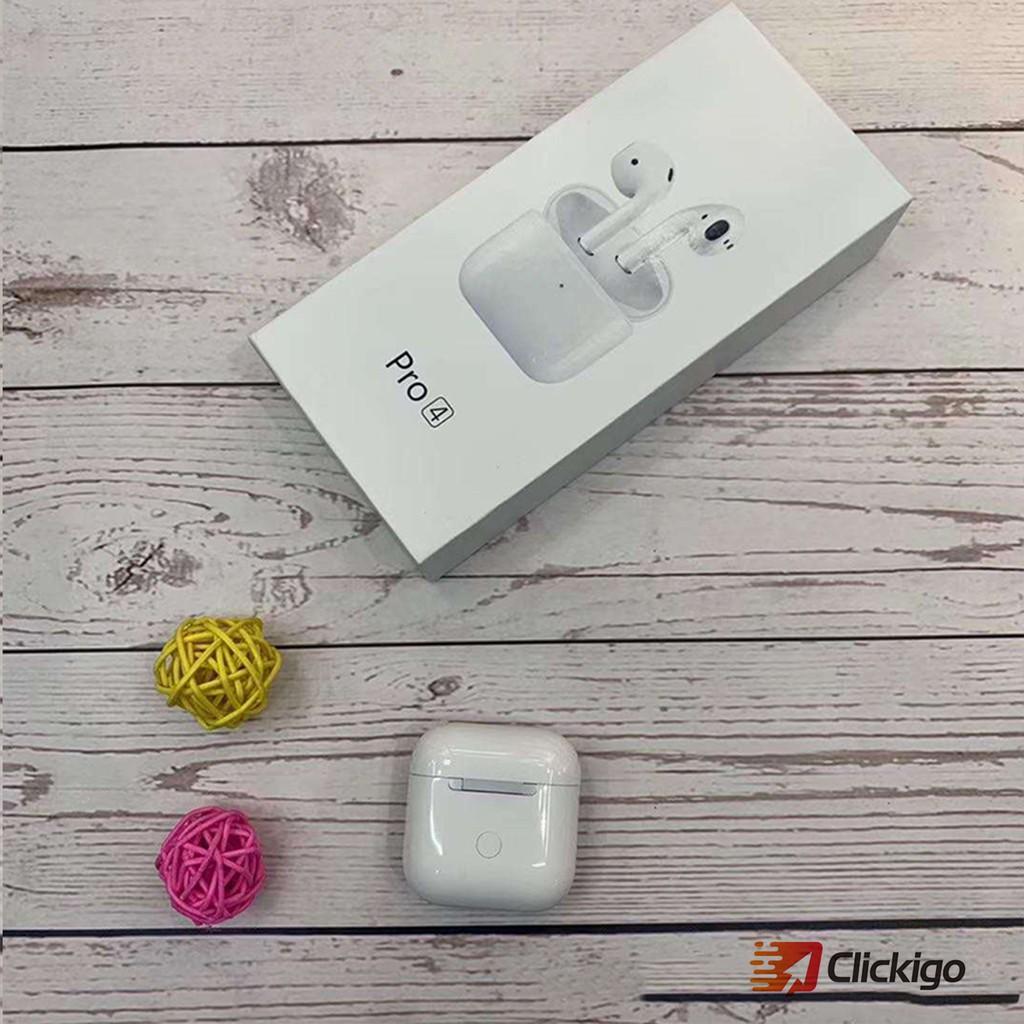 Tai nghe không dây kết nối Bluetooth Pro 5 TWS chống ồn âm thanh trầm ấm dành cho điện thoại Android iPhone