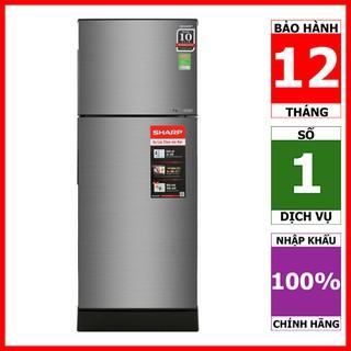 SJ-X201E-SL | SJ-X201E-DS | Tủ lạnh Sharp Inverter 196 lít