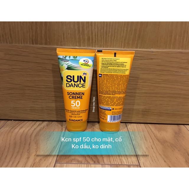 Kem chống nắng Sundance tube 100ml cho da mặt spf 30