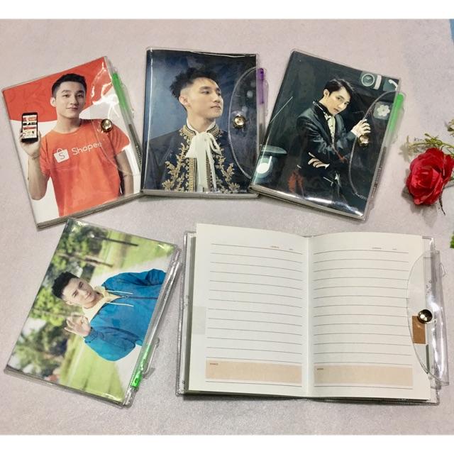 Sổ kèm bút Sơn Tùng M-TP 2 quyển khỏi 10x15cm khác nhau