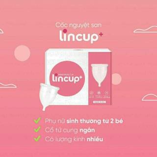 Cốc nguyệt san Lincup Mỹ chính hãng – hàng nhập khẩu từ Mỹ -mẫu mới nhất