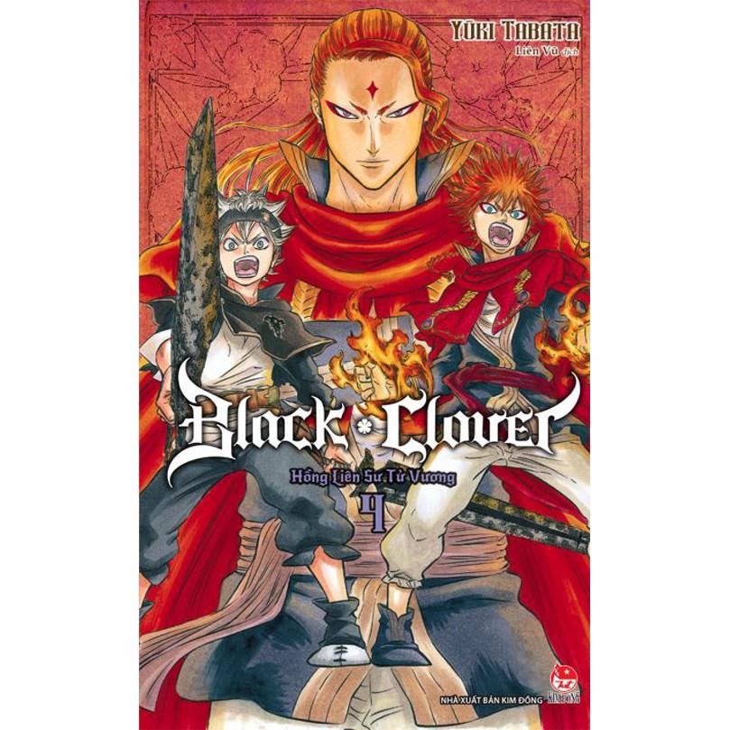 Truyện - Black Clover - Tập 4 - Nxb Kim Đồng