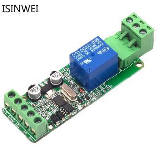 Mô đun rơ le công tắc 1 kênh 12V đầu ra/ đầu vào giao tiếp với RS485 / TTL