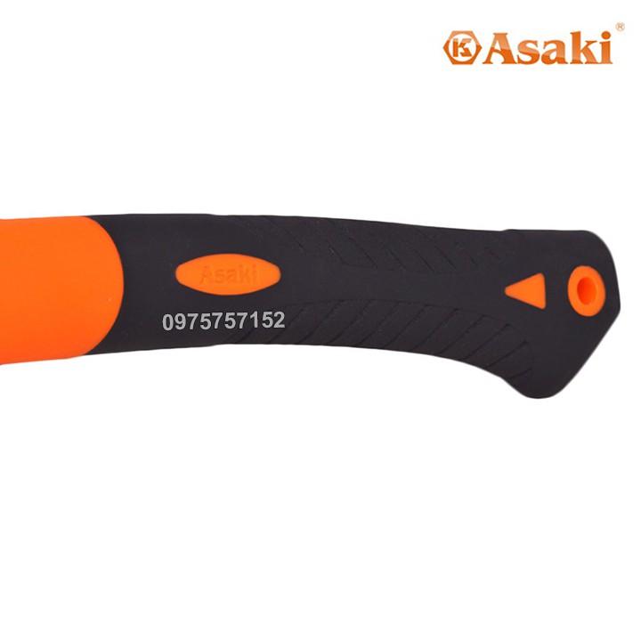 Búa Rìu Asaki bổ củi, chặt cây, làm vườn, thoát hiểm, cứu hộ đa năng 600G
