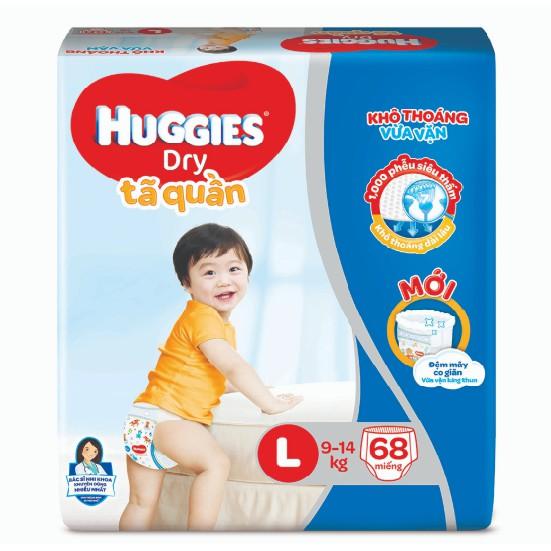 Tã quần huggies L68