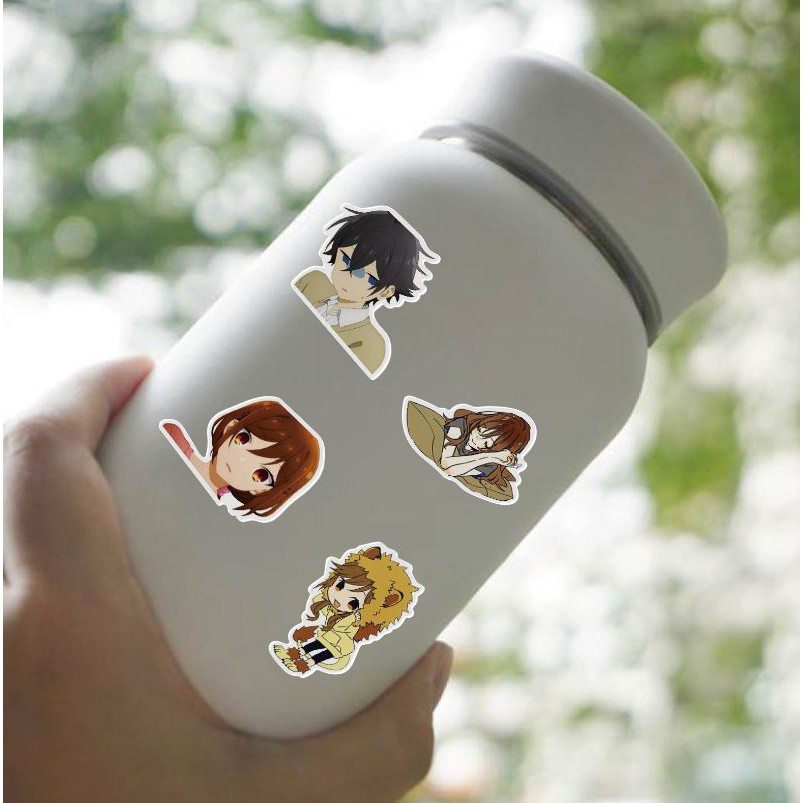 Sticker anime Hori và Miyamura nhựa PVC không thấm nước, dán nón bảo hiểm, laptop, điện thoại, Vali, xe, Cực COOL #197
