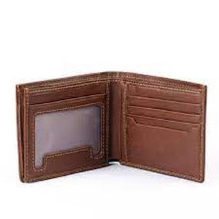 Ví Nam Saffiano Đẳng cấp, Ví Da Nam Dáng Đứng Chống Nước , Đựng Thẻ , Đựng Card Dành Cho Nam thumbnail