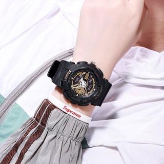 Đồng hồ Dotime điện tử nam nữ chạy kim giả thiết kế cực đẹp ZO108