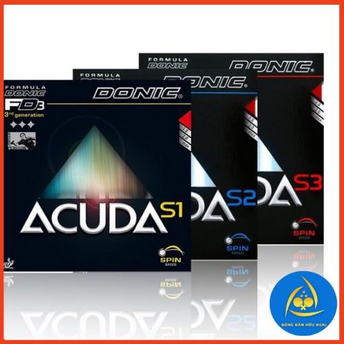 Mặt Vợt Bóng Bàn DONIC Acuda S1 S2 S3 Speed Spin và ConTrol