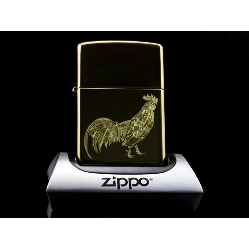 Hộp Quẹt Zippo 12 Con Giáp Tuổi Dậu