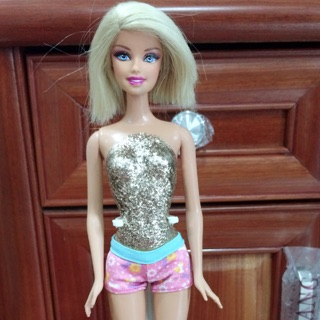 Búp bê barbie tóc ngắn Mattel USA