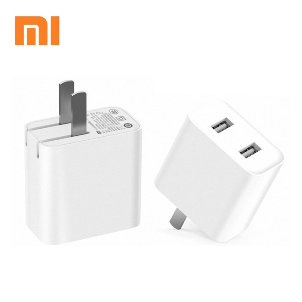 Image result for củ sạc xiaomi 2 cổng