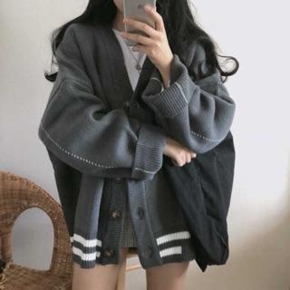 [ORDER ] Áo cardigan len dày dặn 2 màu Ulzzang ( Ảnh thật ở cuối )