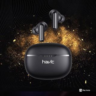 Tai nghe Bluetooth Havit I99 thế hệ mới - True Wireless 5.0 cảm ứng vuốt trượt, chơi game và đàm thoại hạn chế trễ