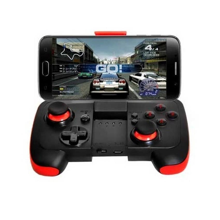 Tay cầm chơi game Bluetooth SAITAKE STK-7002 dành cho Android và IOS