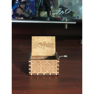 Hộp nhạc gỗ Harry Potter