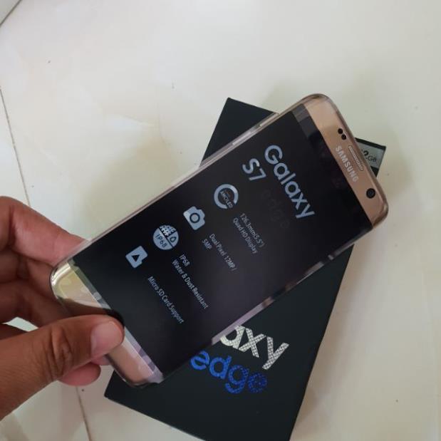 [Siêu Sale] điện thoại Samsung Galaxy S7 Edge ram 4G/32G mới FULLBOX, chơi Pubg Liên quân mượt