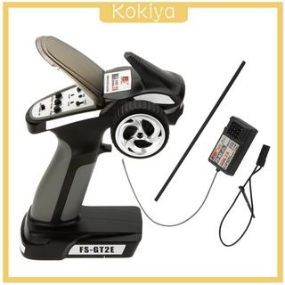 [KOKIYA] 2CH RC Car Transmitter w/ Receiver Set Remote System Parts Accessories