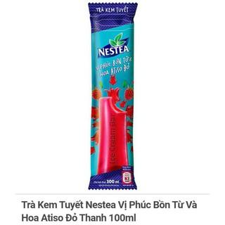 Một hộp – 6 chiếc kem tuyết NESTEA vị phúc bồn tử và hoa Atiso đỏ