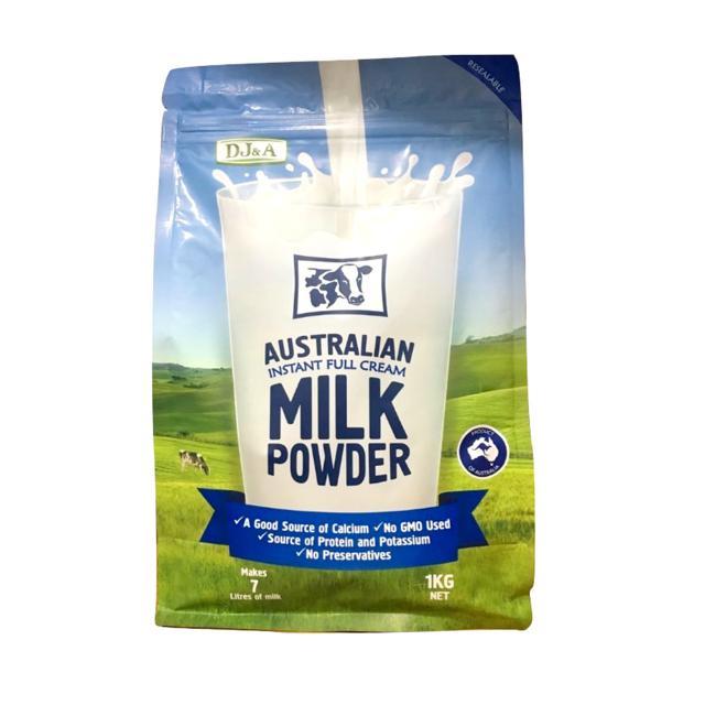 Sữa tươi nguyên kem/tách béo dạng bột DJA gói 1kg xách tay Úc - 3290928 , 441444594 , 322_441444594 , 300000 , Sua-tuoi-nguyen-kem-tach-beo-dang-bot-DJA-goi-1kg-xach-tay-Uc-322_441444594 , shopee.vn , Sữa tươi nguyên kem/tách béo dạng bột DJA gói 1kg xách tay Úc