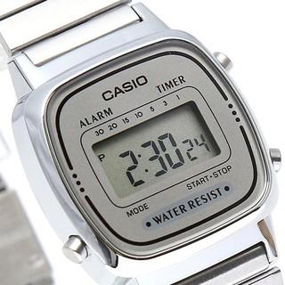 Đồng hồ nữ dây kim loại chính hãng Casio LA670WA-7DF