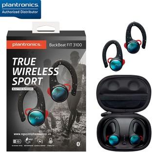 Tai Nghe Thể Thao True Wireless Plantronics BackBeat Fit 3100 - Hàng Chính Hãng