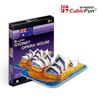 Mô hình lắp ghép 3D Cubic Fun – Nhà sò Opera Úc
