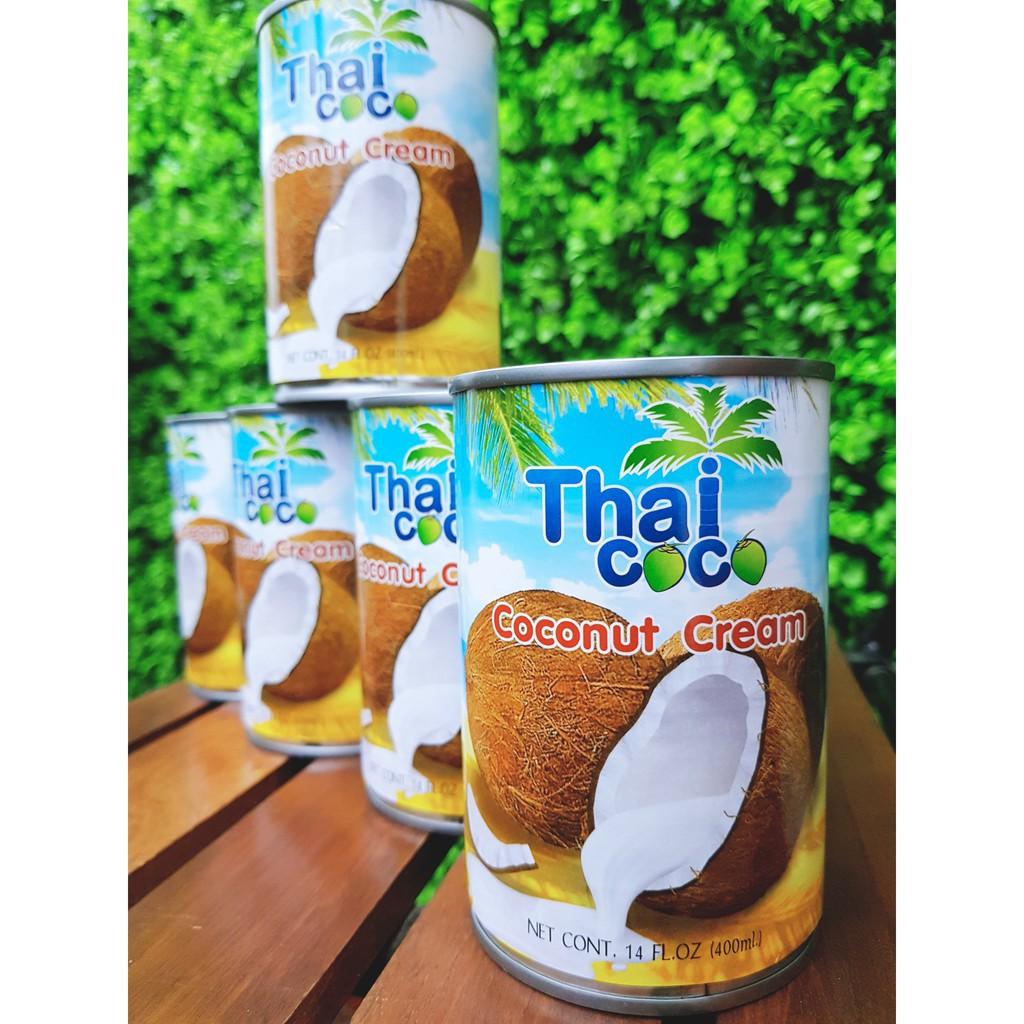 Nước cốt dừa coco 400 ml (Thái Lan - Thai CoCo) - Nước cốt dừa đậm đặc
