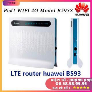 Phát wifi 4 G Model B593S-12 chính hãng huawei hàng new 100% * Hổ trợ 32 user , có 4 cổng Lan