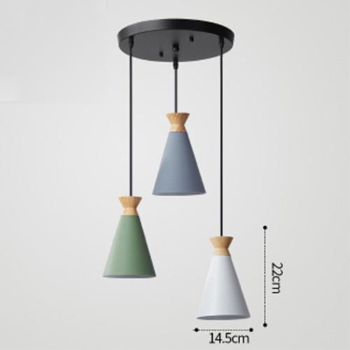 Đèn thả trang trí bàn ăn, phòng khách RENSAI cao cấp kèm bóng LED chuyên dụng