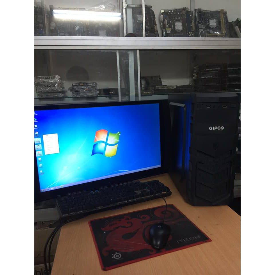 bộ cây máy tính để bàn dùng lướt web xem phim chơi game. Giá chỉ 2.750.000₫