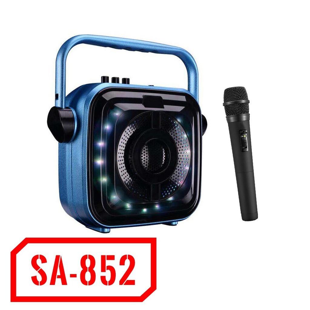 Loa bluetooth cao cấp Vision VSP SA-852 có đèn led + Tặng kèm micro không dây - BH chính hãng - 2494258 , 1291148688 , 322_1291148688 , 649000 , Loa-bluetooth-cao-cap-Vision-VSP-SA-852-co-den-led-Tang-kem-micro-khong-day-BH-chinh-hang-322_1291148688 , shopee.vn , Loa bluetooth cao cấp Vision VSP SA-852 có đèn led + Tặng kèm micro không dây - BH