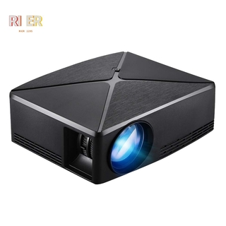 C80 Portable Led Mini Projector,Hdmi Usb Home Theater Video Game Projector Beamer(Us Plug)Basic