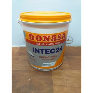 Vật liệu chống thấm sàn và tường Donasa Intec 24 _ Thùng 4kg